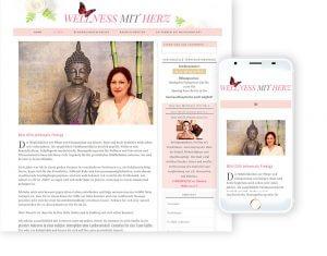 Bespoke WordPress theme and responsive design