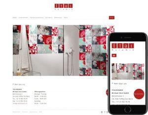 online shop website and app on magento